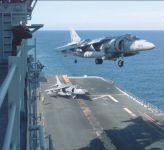 Палубный штурмовик AV-8 «Харриер» МП США